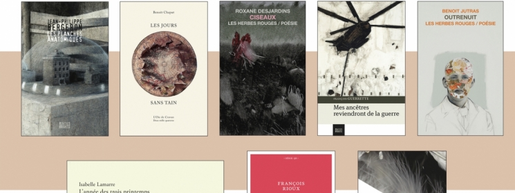 Jean-Philippe Bergeron et François Guerrette sur la liste préliminaire du Prix des libraires du Québec